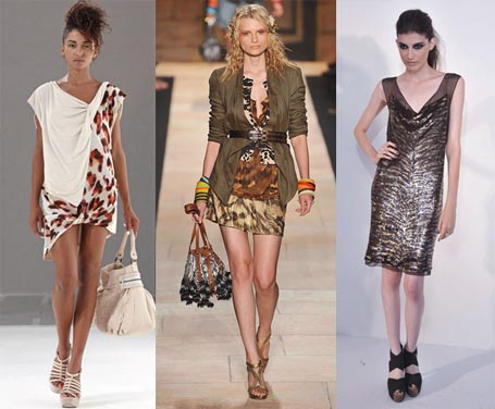 Spring 2010 Fashion Week Trend: Animal Prints