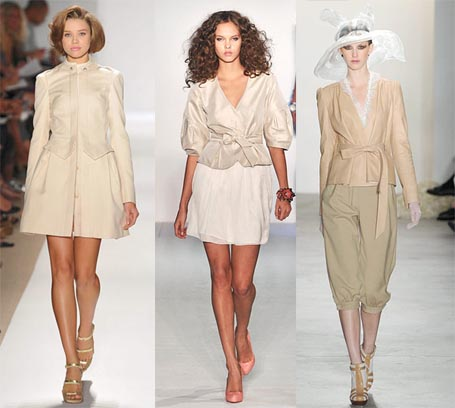 Spring 2010 Fashion Week Trend: Not So Boring Beige