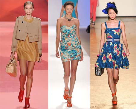 Spring 2010 Fashion Week Trend: Brightly Colored Shoes