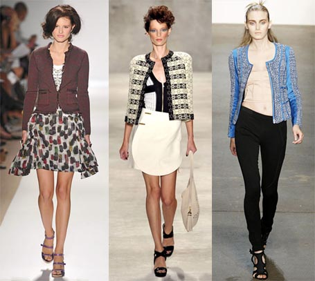 Spring 2010 Fashion Week Trend: Chanel Jackets