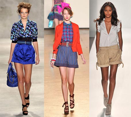 Spring 2010 Fashion Week Trend: Roomy Cuffed Shorts