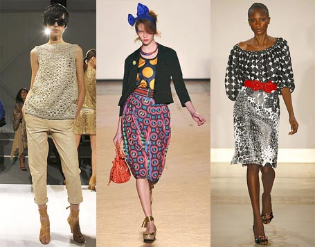 Spring 2010 Fashion Week Trend: Polka Dots