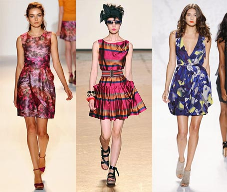 Spring 2010 Fashion Week Trend: Modern Garden Party Dresses