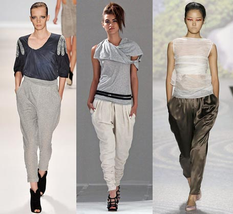 Spring 2010 Fashion Week Trend: Harem Pants