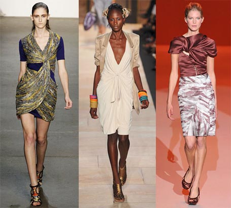 Spring 2010 Fashion Week Trend: Knotted Details - Omiru: Style for All