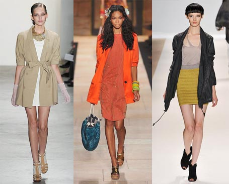 Spring 2010 Fashion Week Trend: Extra Long Blazers