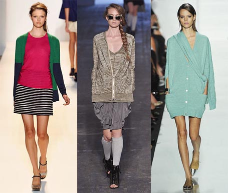 Spring 2010 Fashion Week Trend: Long Cardigans