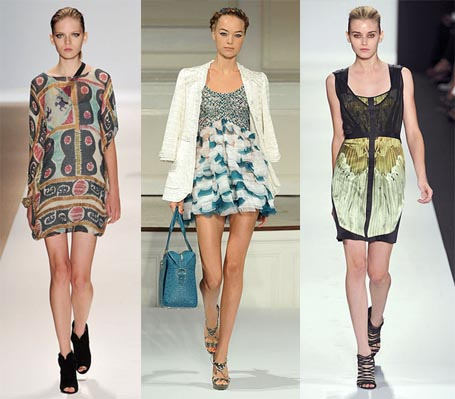 Spring 2010 Fashion Week Trend:  Minidresses