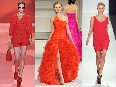 Spring 2010 Fashion Week Trend: Red