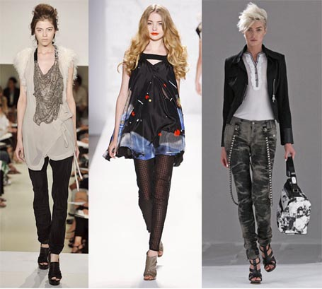 Spring 2010 Fashion Week Trend: Skinny Legs