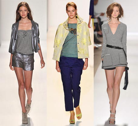 Spring 2010 Fashion Week Trend: Microstripes