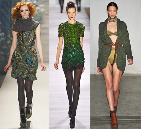 Fall 2010 Fashion Week Trend: Green