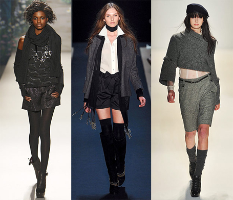 Fall 2010 Fashion Week Trend: Shorts