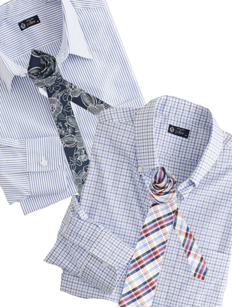 The dress shirt and tie is one of the most foundation combinations for men,