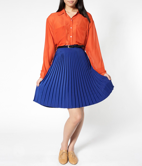 American Apparel Perfect Pleated Skirt